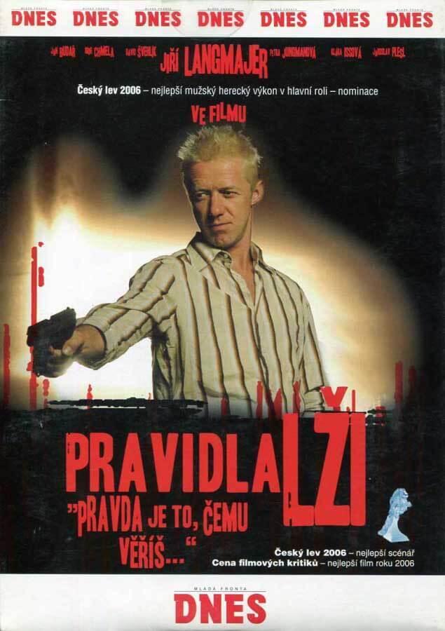 Pravidla lži (Jiří Langmajer) (DVD) (papírový obal)