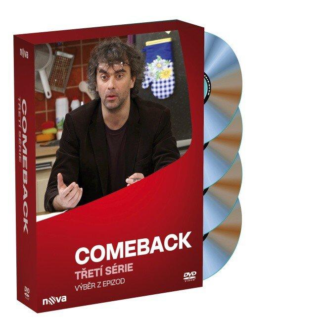 Comeback - 3. série - 4xDVD (tv seriál) - 18 dílů