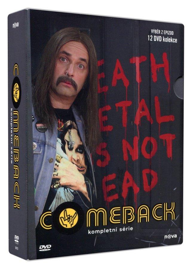 Comeback - 1.-3. série (12 DVD)