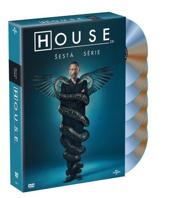 Dr. House 6. sezóna (6 DVD)