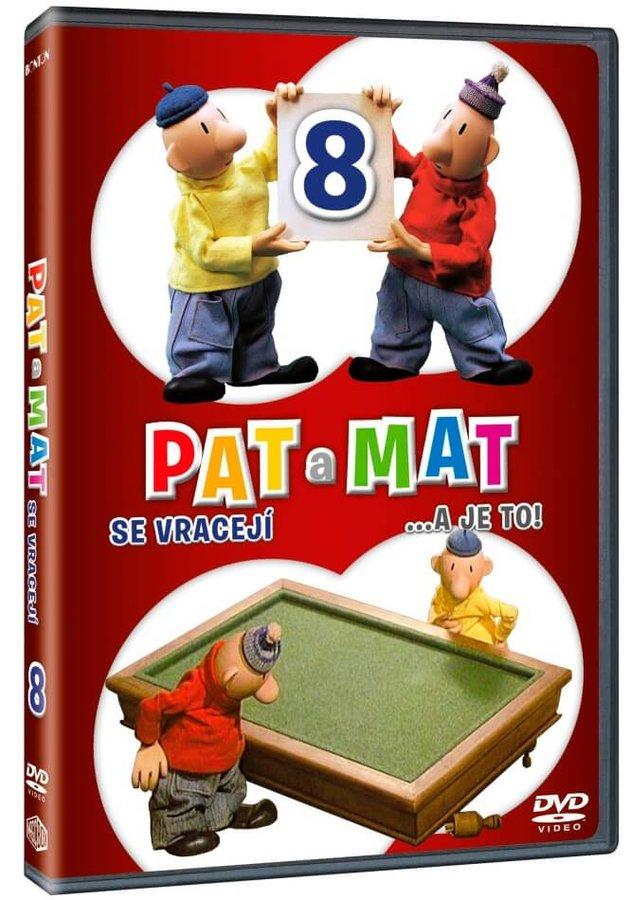 Pat a Mat 8 (DVD)