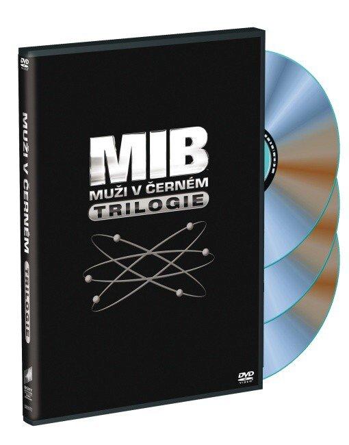 Muži v černém - kolekce - 1-3 (3 DVD)