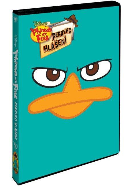 Phineas a Ferb: Perryho hlášení (DVD)