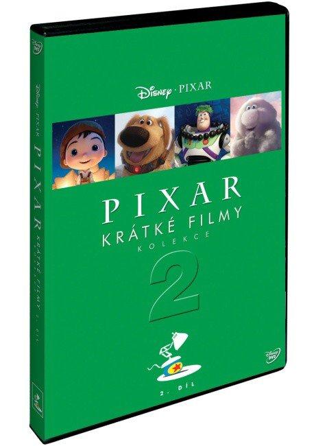 Pixar: Kolekce krátkých filmů - 2.díl (DVD)