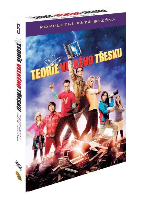 Teorie velkého třesku 5. sezóna - 3 DVD (český dabing)