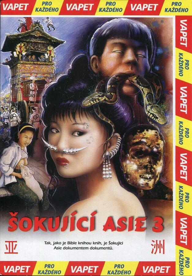 Šokující Asie 3 (DVD) (papírový obal)