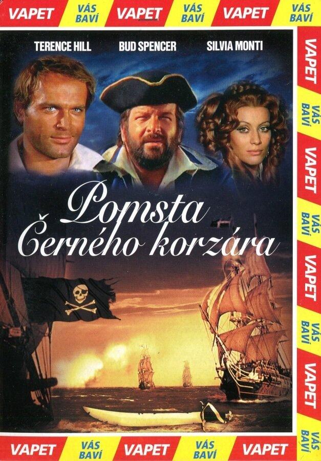 Pomsta Černého korzára (DVD) (papírový obal)