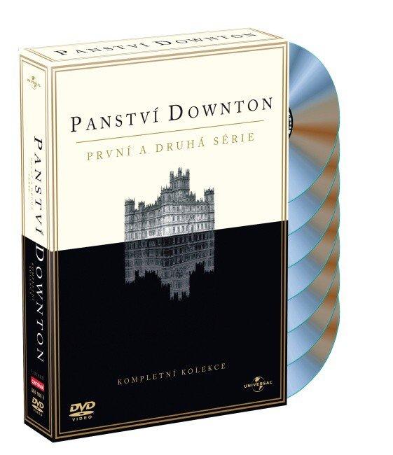 Panství Downton 1+2 (tv seriál) - 7xDVD