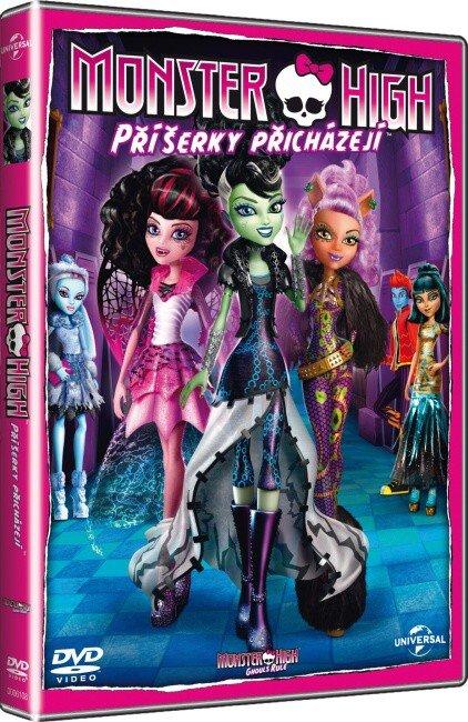 Monster High: Příšerky přicházejí (DVD)