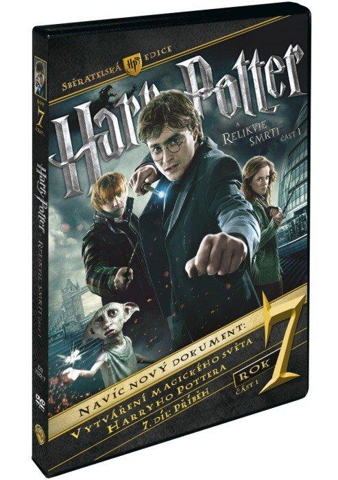 Harry Potter a Relikvie smrti - 1. část S.E. - 3xDVD