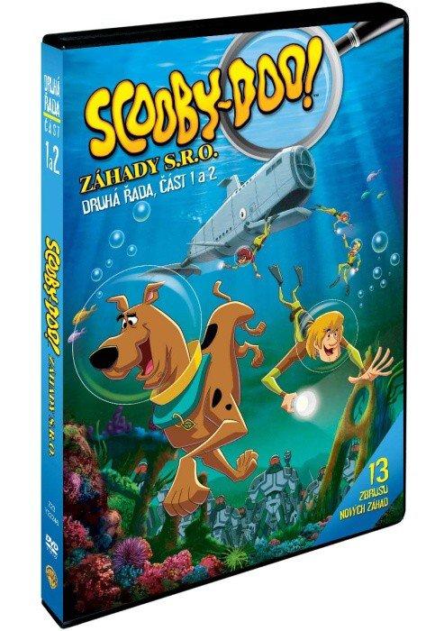 Scooby Doo: Záhady s.r.o. - 2. série - 1.+2.část (2xDVD) - tv seriál