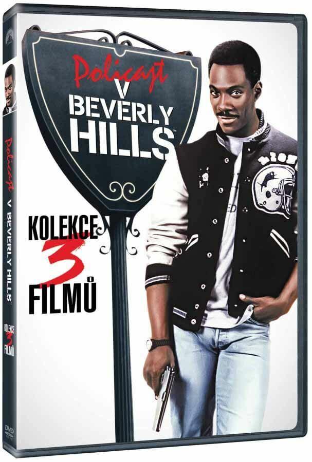 Policajt v Beverly Hills 1+2+3 - kolekce - 3xDVD