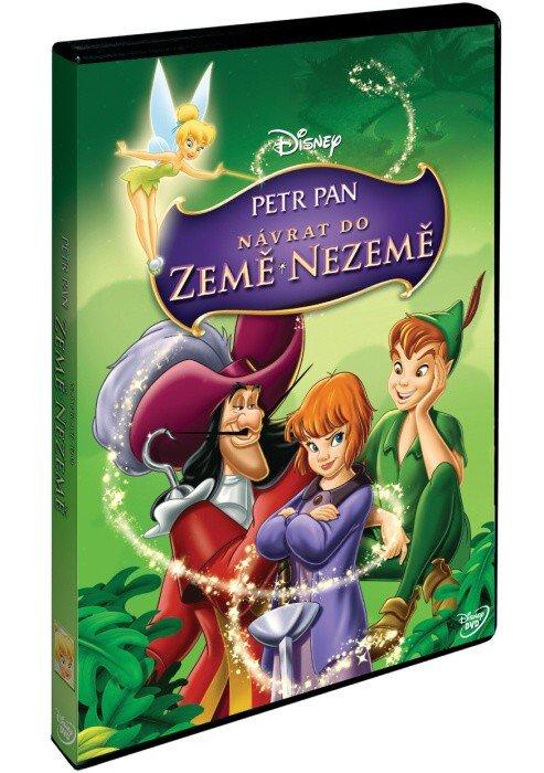 Petr Pan 2: Návrat do Země Nezemě (DVD) - Disney