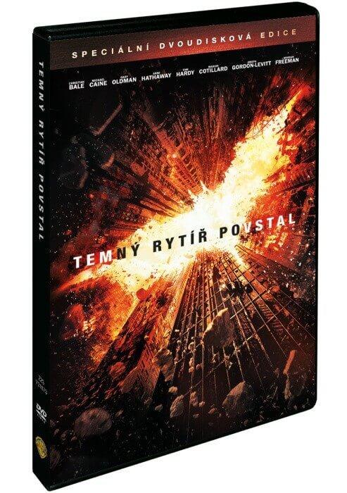 Temný rytíř povstal (2 DVD)