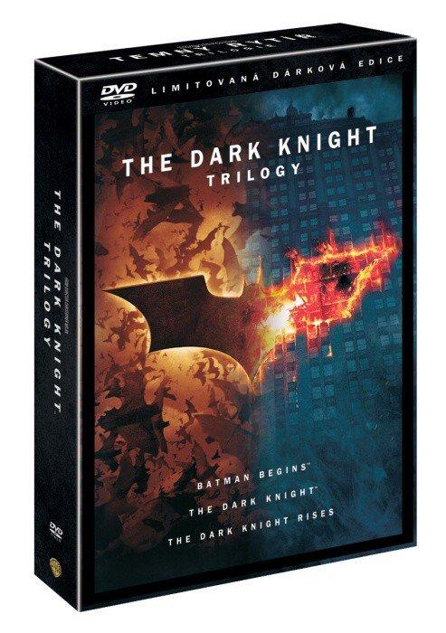Temný rytíř TRILOGIE (6xDVD) - dárková edice