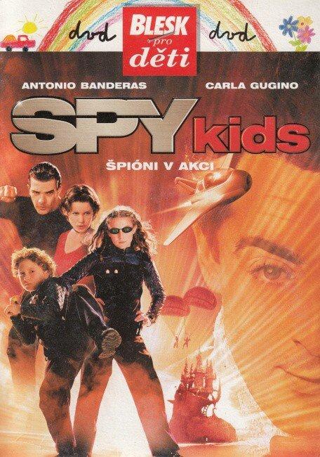 Spy Kids: Špioni v akci (DVD) (papírový obal)