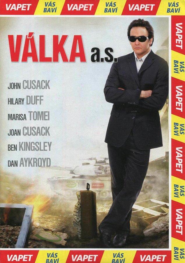 Válka a. s. (DVD) (papírový obal)