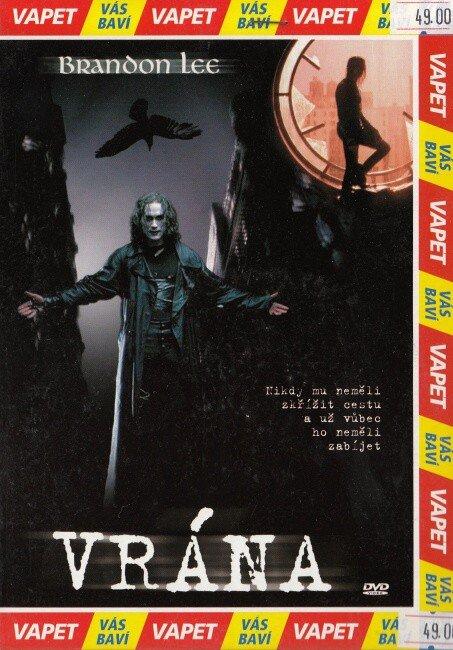 Vrána (DVD) (papírový obal)