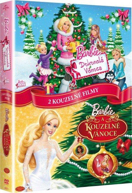 Barbie a Dokonalé Vánoce, Barbie - kouzelné Vánoce - kolekce - 2xDVD