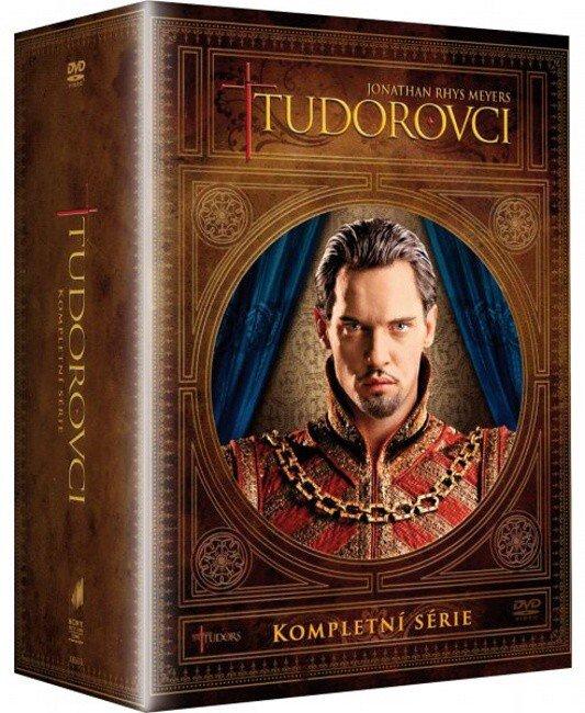 Tudorovci KOMPLET 1-4 (DVD) - seriál