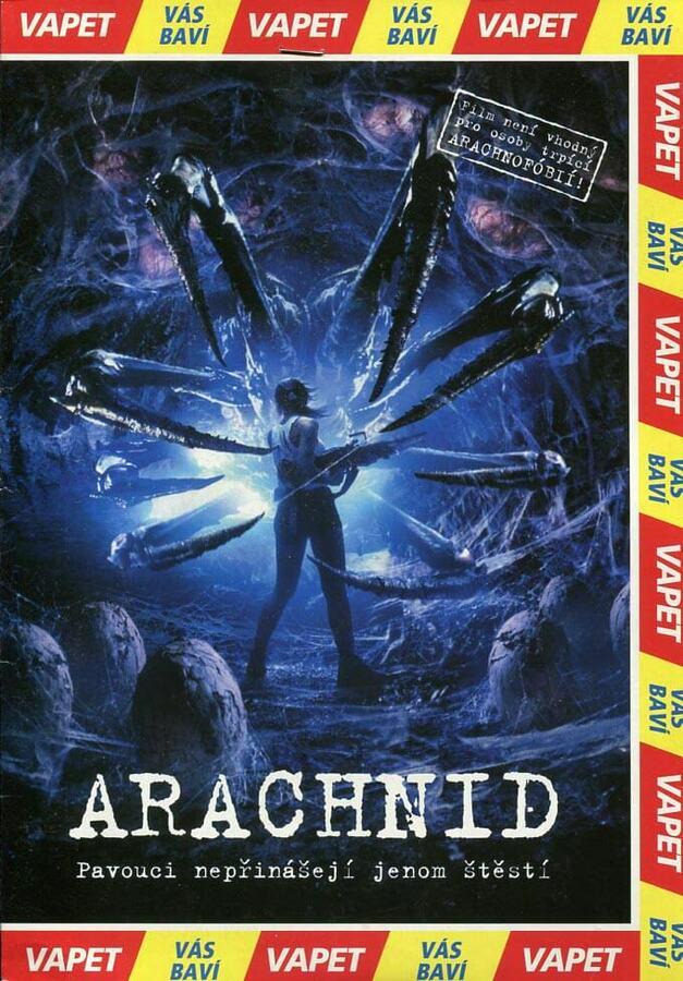 Arachnid (DVD) (papírový obal)