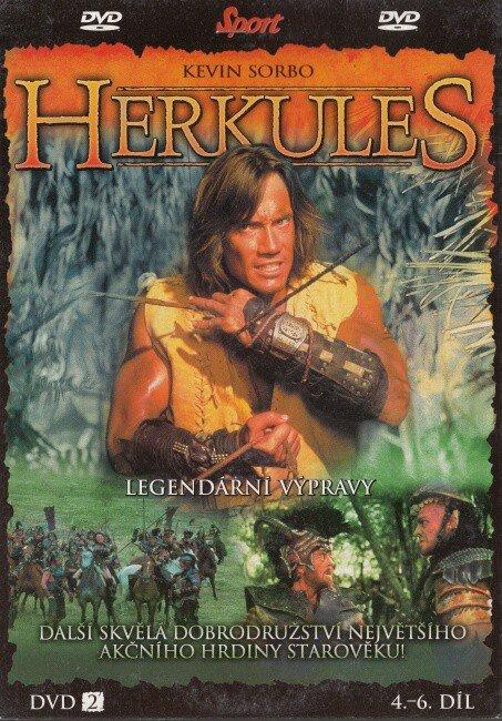 Herkules DVD 2 (4.-6. díl) (DVD) (papírový obal) - tv seriál