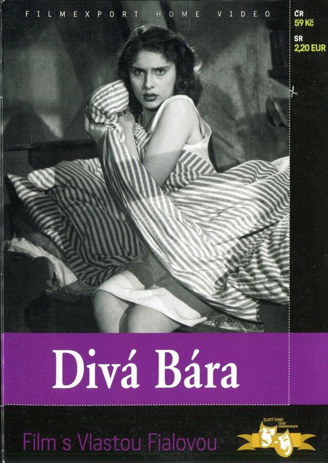 Divá Bára (DVD) (papírový obal)