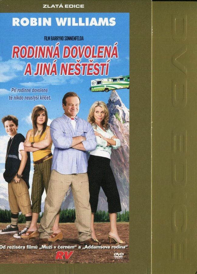 Rodinná dovolená a jiná neštěstí (DVD) - digipack