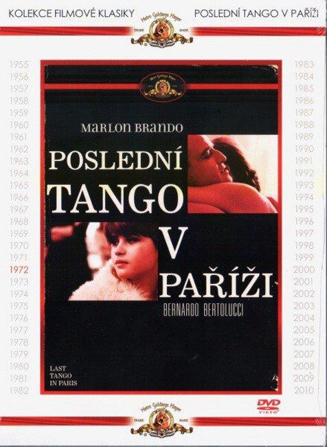 Poslední tango v Paříži (DVD) - kolekce filmové klasiky