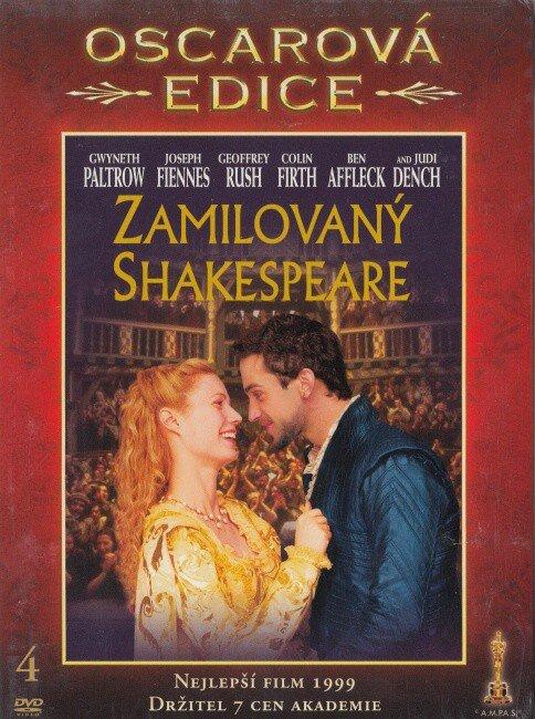 Zamilovaný Shakespeare (DVD) - Oscarová edice