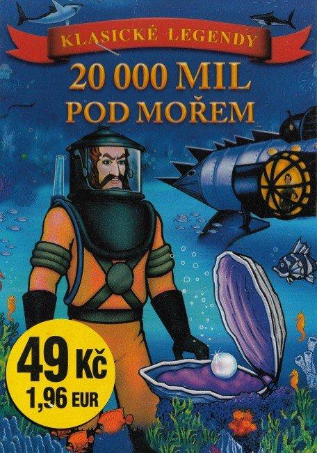 20.000 mil pod mořem (DVD) (papírový obal)
