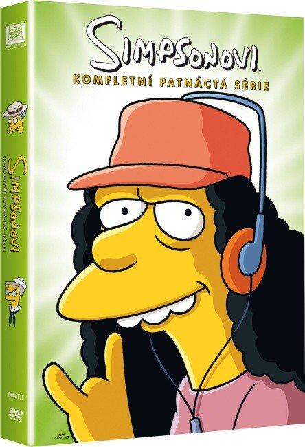 Simpsonovi 15. sezóna - 4xDVD (22 dílů)