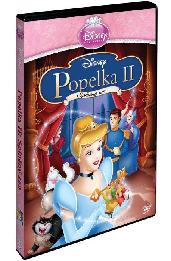 Popelka 2: Splněný sen SE (DVD) - edice Princezen