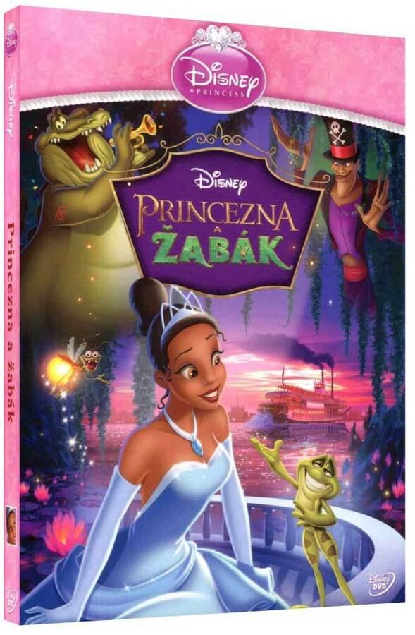 Princezna a žabák (DVD) - edice Princezen