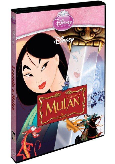Legenda o Mulan (DVD) - edice Princezen