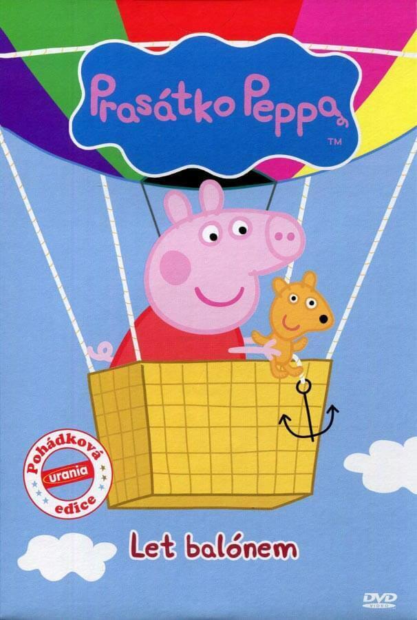 Prasátko Peppa - Let balónem (DVD) (papírový obal)