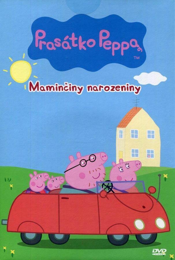 Prasátko Peppa - Maminčiny narozeniny (DVD) (papírový obal)