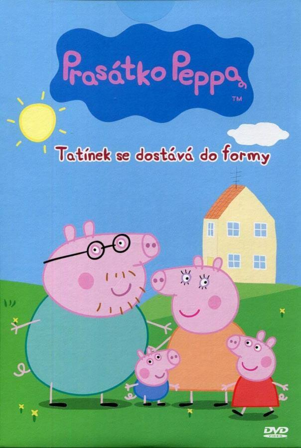 Prasátko Peppa - Tatínek se dostává do formy (DVD) (papírový obal)