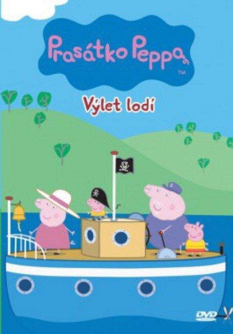 Prasátko Peppa - Výlet lodí (DVD)