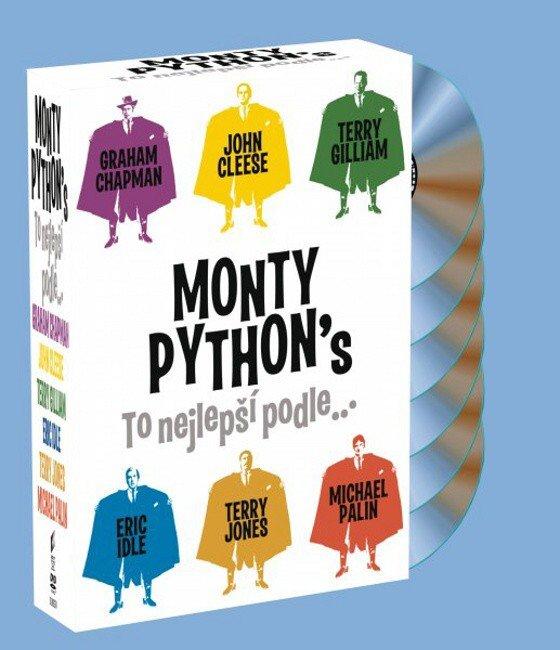Monty Python: To nejlepší podle... - kolekce - 6xDVD - české titulky