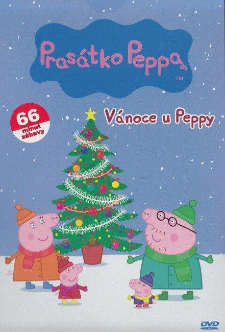 Prasátko Peppa - Vánoce u Peppy (DVD) (papírový obal)