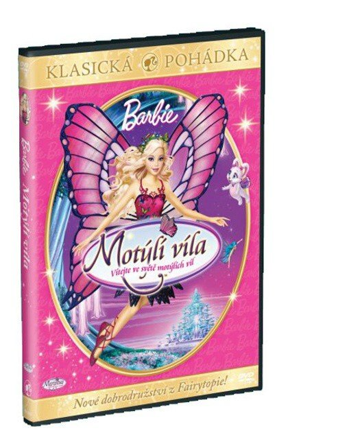 Barbie: Motýlí víla (DVD)