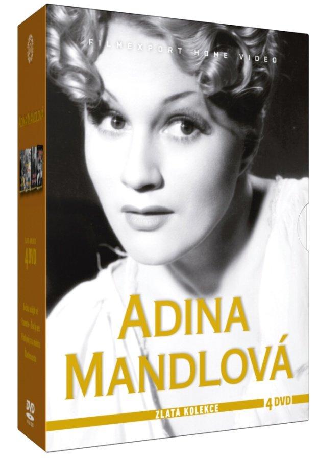 Adina Mandlová - kolekce - 4xDVD