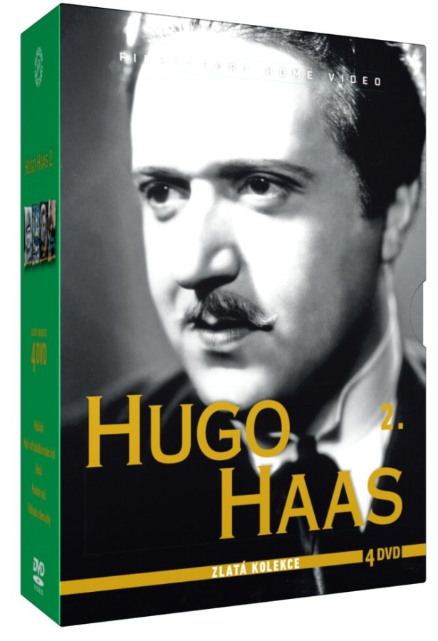 Hugo Haas 2 - kolekce - 4xDVD
