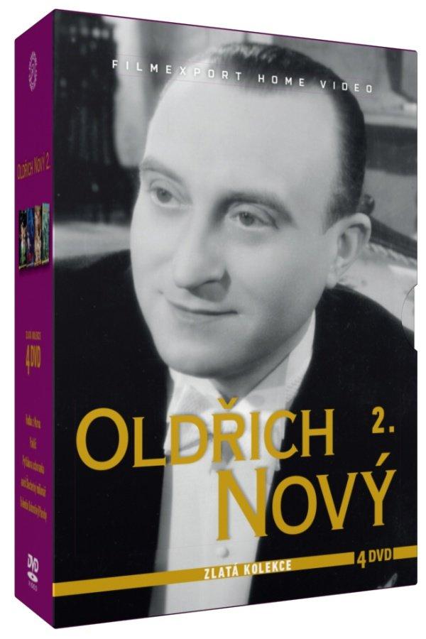 Oldřich Nový 2 - kolekce - 4xDVD