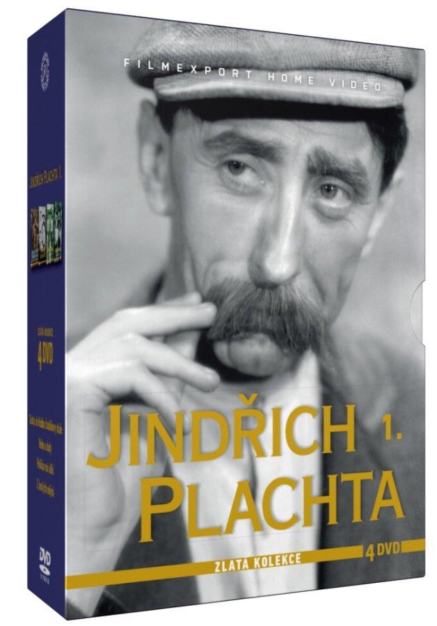 Jindřich Plachta - kolekce - 4xDVD