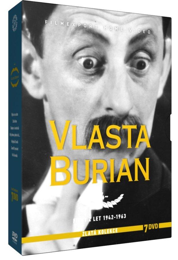 Vlasta Burian 4 - kolekce - 7xDVD