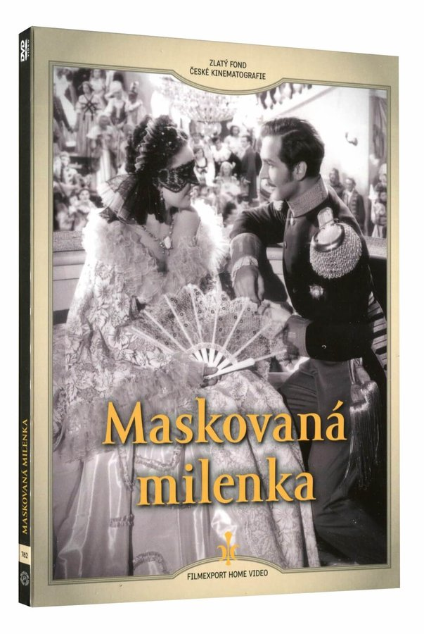 Maskovaná milenka (DVD) - digipack