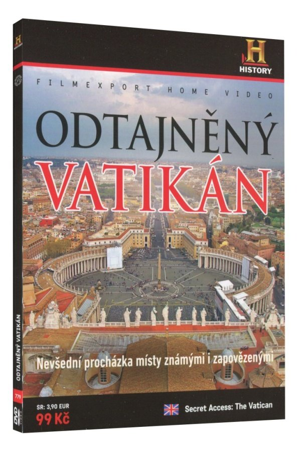 Odtajněný Vatikán (DVD)
