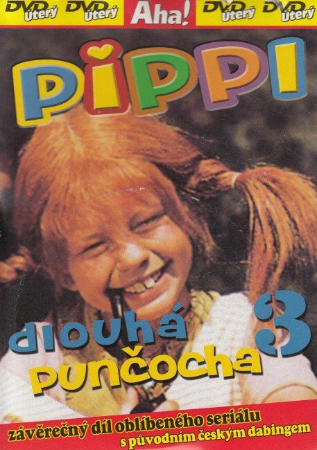 Pippi dlouhá punčocha 3 (DVD) (papírový obal)